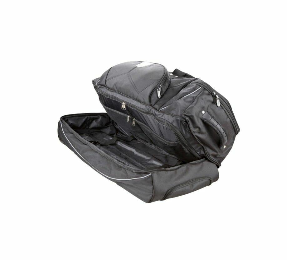 3462NY zwarte trolletytas nylon Dermata Lederwaren