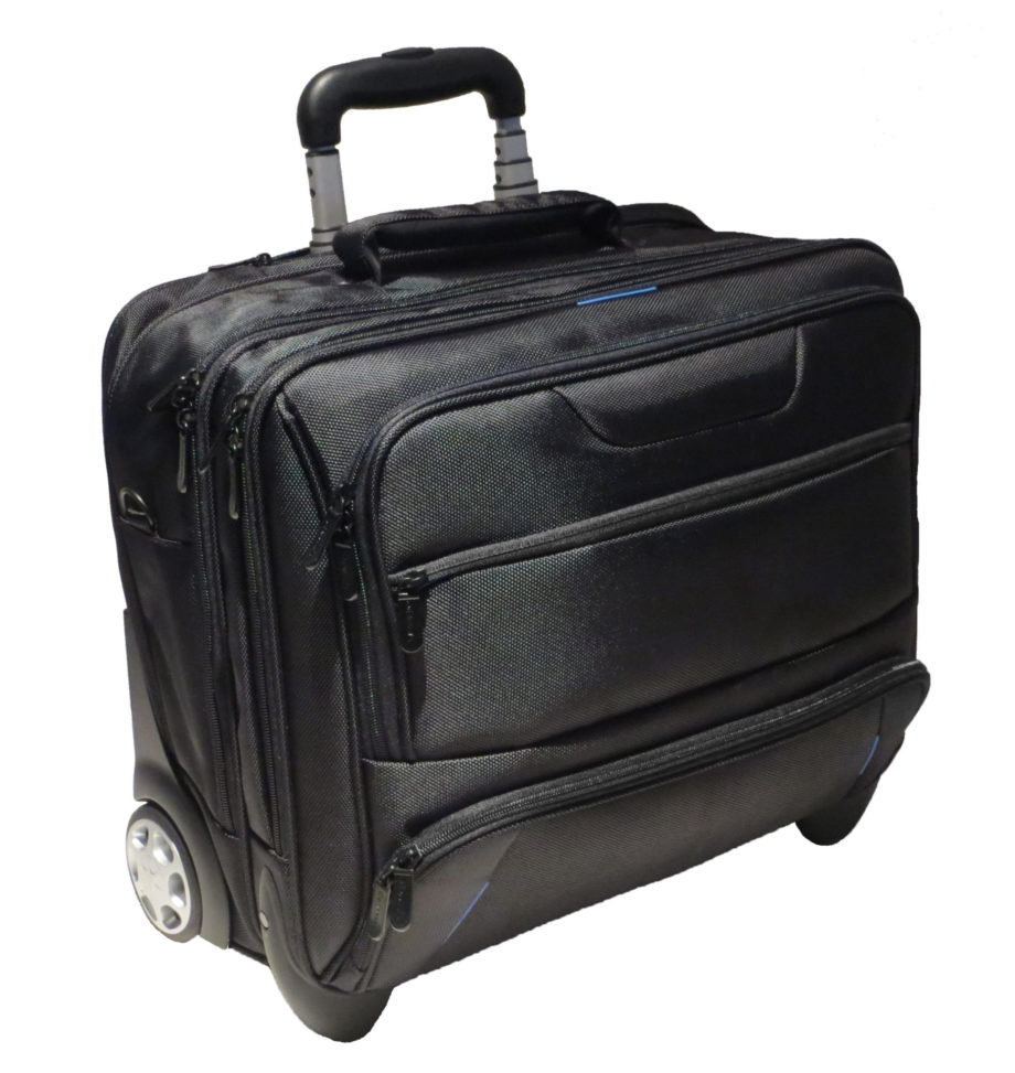 3486NY businesslaptoptrolley nylon Dermata lederwaren