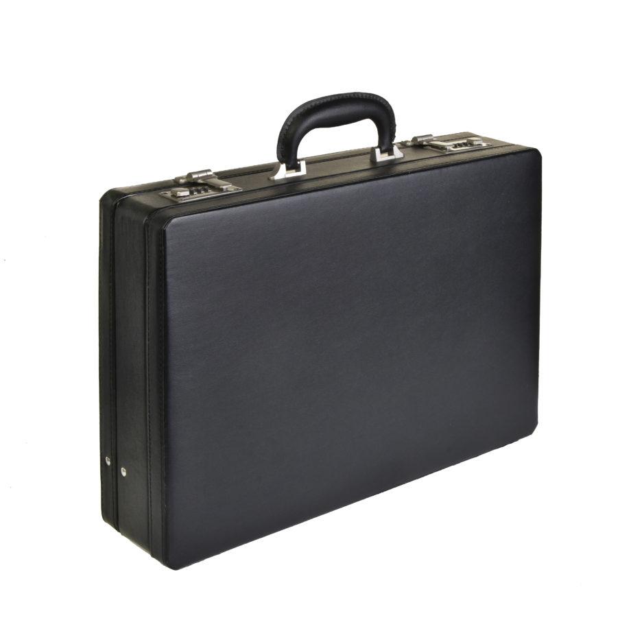 7001 kunstlederen attachékoffer van Dermata lederwaren