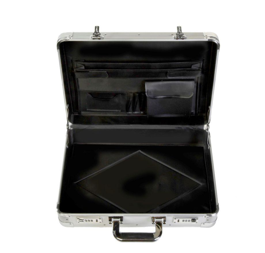 7208 aluminium attachékoffer van Dermata lederwaren